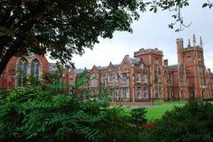 universitetar för belfast drottning s Royaltyfri Fotografi