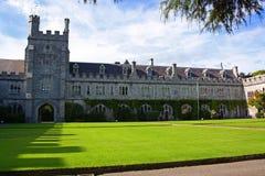 universitetar för högskolakorkkvadrat Royaltyfri Bild