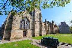 universitetar för konung s för aberdeen byggnadshögskola Detta är det äldsta universitetet i Aberdeen Royaltyfria Bilder