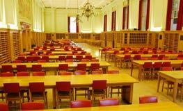 universitetar för korridorarkivstudy arkivbild
