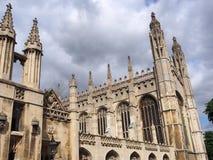 universitetar för cambridge högskolakonung s Royaltyfri Bild