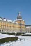 Universitetar av Bonn i vinter Royaltyfri Fotografi