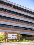 Universitetbyggnad, Puerto Ordaz, Venezuela royaltyfri fotografi