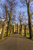Universitetet av Cambridge är ett college- offentligt forskninguniversitet i Cambridge, England Grundat i 1209 Arkivbilder