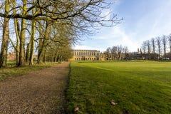 Universitetet av Cambridge är ett college- offentligt forskninguniversitet i Cambridge, England Grundat i 1209 Arkivfoto