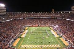Universitetet av Tennessee Pride av den Southland marschmusikbandet Royaltyfri Bild