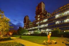 Universitetklinik Aachen, Tyskland Arkivbild