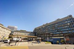 Universitetsjukhus av Genève Royaltyfria Foton