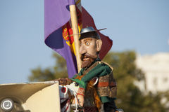 Universitetslärare Quijote Royaltyfri Bild