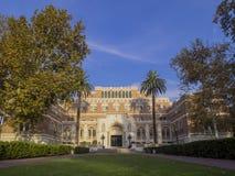 Universitetsområde av universitetet av sydliga Kalifornien arkivfoto