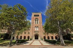 Universitetsområde av universitetet av sydliga Kalifornien Royaltyfri Bild