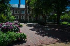 Universitetsområdelandskap Fotografering för Bildbyråer