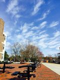 Universitetsområdeskönhet Royaltyfria Bilder