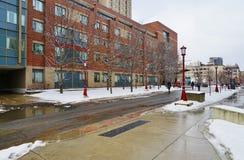 Universitetsområdet av universitetet av Ottawa, Kanada Royaltyfria Foton