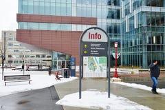 Universitetsområdet av universitetet av Ottawa, Kanada Royaltyfria Bilder