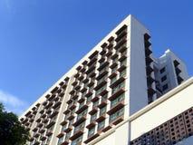Universitetsområdevandrarhembyggnad Royaltyfria Bilder
