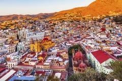 Universitettempel Companiia vår dam Basilica Guanajuato Mexico Royaltyfria Bilder