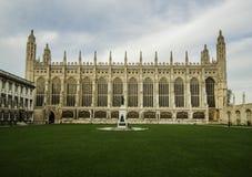 Universitety de Cambridge Imágenes de archivo libres de regalías