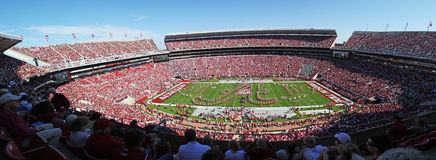 Universität von Alabama Gameday Lizenzfreie Stockbilder