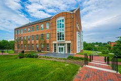 The University Academic Building at Notre Dame of Maryland University in Baltimore, Maryland.  stock photos