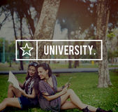 University Academy College Community Education Concept Royalty Free Stock Photos