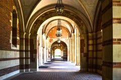 University - aisle Royalty Free Stock Image