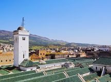 University of al-Karaouine in Fes, Morocco Stock Photography