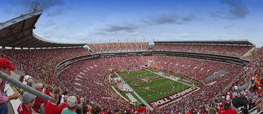 University of Alabama Million Dollar Band pregame Royalty Free Stock Photo