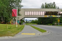 The University of Alaska in Anchorage (UAA) Royalty Free Stock Photos