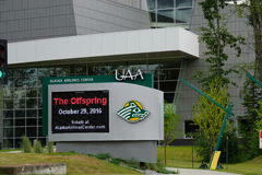 The University of Alaska in Anchorage (UAA) Royalty Free Stock Photography