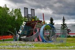 The University of Alaska in Anchorage (UAA) Stock Photo