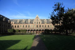 The University of Antwerp Royalty Free Stock Photography