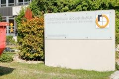 University of Applied Sciences Rosenheim Stock Image