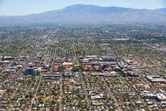 University of Arizona Aerial View Royalty Free Stock Photos