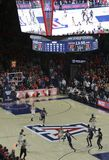 A University of Arizona Wildcats vs. University of Connecticut H. TUCSON, ARIZONA, DECEMBER 21. MCKALE ARENA on DECEMBER 21, 2017, in TUCSON, ARIZONA. The Royalty Free Stock Images