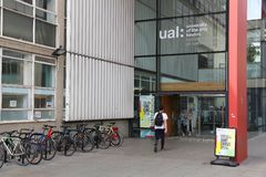 University of The Arts London Stock Photography