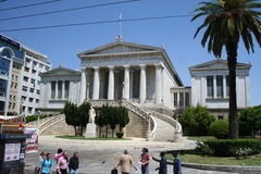 University of Athens, Greece Royalty Free Stock Photo