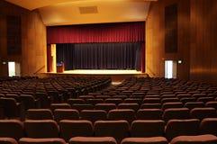 University auditorium. Interior detail of a univeristy auditorium stock photo