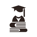 University avatar. Education icon Stock Photo