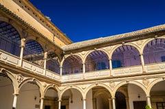 The University of Baeza building, Spain, Andalusia. The University of Baeza building - Spain, Andalusia royalty free stock photo