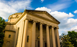 University Baptist Church, in Baltimore, Maryland. Royalty Free Stock Photography