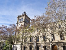University of Barcelona, Spain. Royalty Free Stock Images