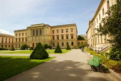 University in Bastions park, Geneva, Switzerland Royalty Free Stock Photo