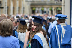 University of Bath graduation ceremony royalty free stock photography