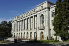 University of Berkeley, Bacteriology, USA. Bacteriology building at the University of Berkeley, California, USA Stock Photo