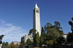 University of Berkeley, Sather Tower, USA Royalty Free Stock Photos