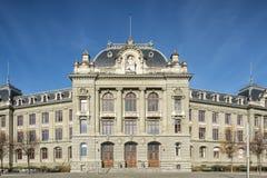 University of Bern facade. Bern, Switzerland: facade of the University of Bern building Stock Image