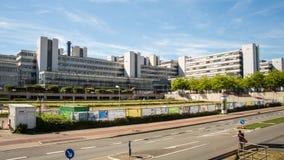 University of Bielefeld time lapse stock video footage