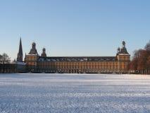 University of Bonn 1. University of Bonn in Germany / Winter Stock Photo