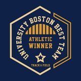 UNIVERSITY BOSTON BEST Stock Image